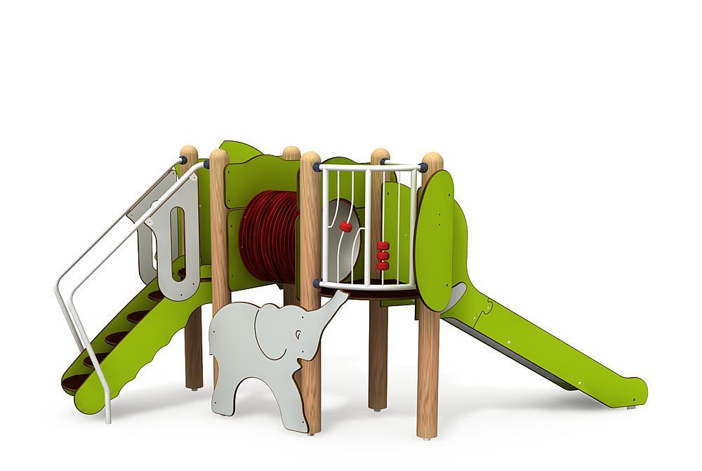 minimondo_Instalación_de_juego_Familia_elefante