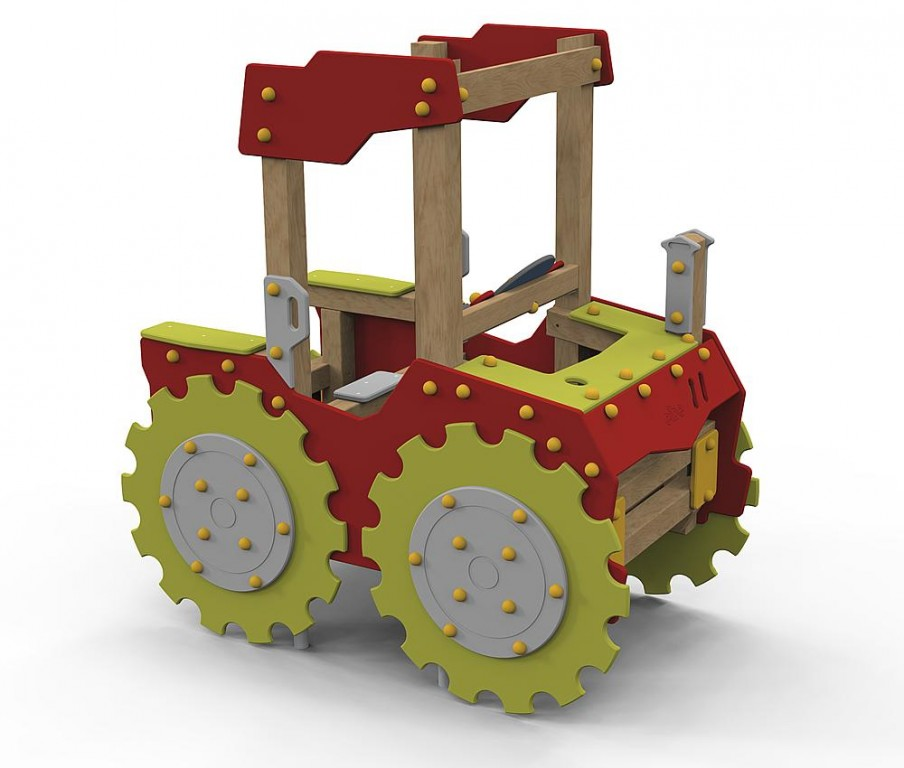 ecorino_Instalación_temática_de_juego_Tractor
